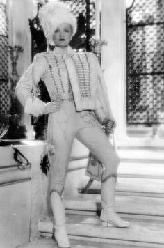 """Marlene Dietrich in """"The Scarlet Empress""""  (1934)"""