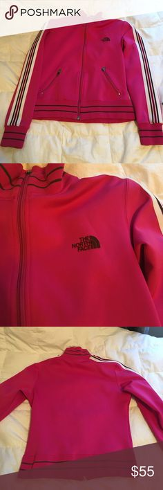 North Face Zip Up Only wore a few times. In Great condition. No wear and tear. Size S (women's) Its great with yoga pants or jeans. The North Face Tops Sweatshirts & Hoodies