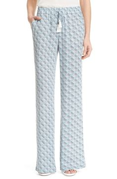 Joie 'Ferina B' Print Silk Pants available at #Nordstrom