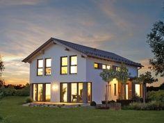 Variant 25-192 - #Einfamilienhaus von Hanse Haus GmbH & Co. KG   Haus XXL #modern #Wintergarten #Terrasse
