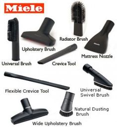 Vacuum Cleaner Accessories: Customize Your Cleaning Experience Miele Vacuum, Vacuum Cleaner Accessories, Household Chores, Hard To Find, Flashlight, Vacuums, Cleaning, Picture Dictionary, Vacuum Cleaners