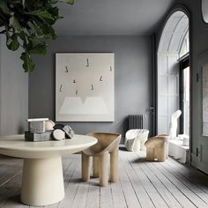 www.welovehomeblog.com Loving the shapes of this furniture Oliver Gustav / Studio Toogood