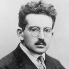"On this day in Walter Benjamin, Jewish-German philosopher and critic, despaired of escaping out of Nazi occupied France and committed suicide by swallowing morphine… ""A Klee painting named. Walter Benjamin, Philosophical Thoughts, Great Philosophers, Essayist, Book Writer, Famous Faces, His Eyes, One Pic, Kids Playing"