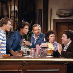 TV Show by Pub or Bar hangout Cheers Tv Show, Cheers Theme, Top Tv Shows, Restaurant Themes, Cheer Quotes, Know Your Name, Comedy Tv, Tv Show Quotes, Tv Actors