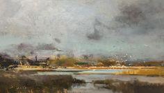 "Sanctuary Light by Simon Addyman Oil ~ 14"" x 24"""