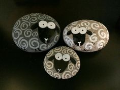 Image result for ideas for painting pebbles