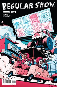 Regular Show Issue #13 - Read Regular Show Issue #13 comic online in high quality