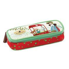 Santoro Kori Kumi Κασετίνα τετράγωνη Apple Suitcase, Zip Around Wallet, Korea, Suitcases, Briefcase, Korean
