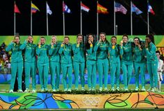 Rugby 7s Women - Australia - Rio Olympic 2016 ~ Shannon Parry, Sharni Williams, Emma Tonegato, Charlotte Caslick, Chloe Dalton, Alicia Quirk, Emilee Cherry, Nicole Beck, Gemma Etheridge, Evania Pelite, Amy Turner and Ellia Green Rugby 7's, Rugby Memes, Womens Rugby, Commonwealth Games, Rio Olympics 2016, Olympic Champion, Summer Dream, Role Models, Chloe