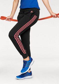69dbc565bcc89f adidas Performance Jogginghose »ESSENTIALS 3 STRIPES PANT CUFFED« auch in großen  Größen