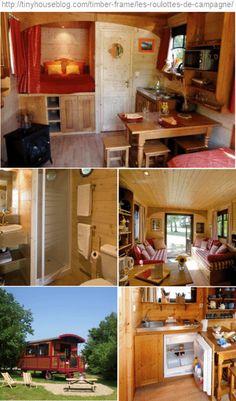 Vardo: http://tinyhouseblog.com/timber-frame/les-roulottes-de-campagne/