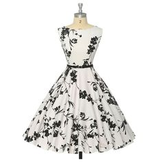How many Audrey style dresses can I pin? It's a record. I like them in print too if subtle print