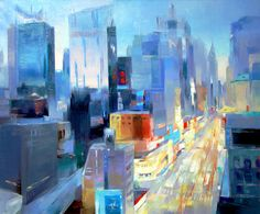 .... 42-nd Street New York ....  . .....  ....  TATIANA BUGAENKO ........      .Saatchi on line Artist .......   .born in 1990 in Russia