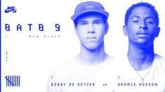BATB9 | Bobby De Keyzer Vs Aramis Hudson – Round 1: Bobby De Keyzer and Aramis Hudson battle it… #Skatevideos #ARAMIS #BATB9 #bobby #HUDSON