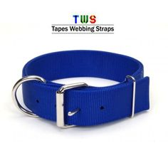 Blue adjustable nylon dog collar is available to buy online at Tapes Webbing straps. You get so many discounts and best quality here. For more details click on the below link or call us on +9833884973/9323558399 http://tapeswebbingstraps.in/product-category/dog-collars/