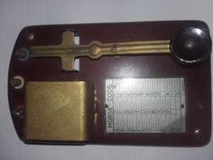 Online veilinghuis Catawiki: Morse-code apparaat met letters en codes  Made in…