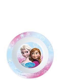 Ihanasta Frozen-kulhosta on helppo nauttia aamupalaksi vaikka murot tai puuro. Kulho soveltuu myös mikroon. Mitat 16,5cm x 16,5cm. Vetoisuus 3 dl.