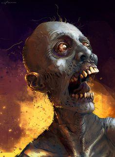 zombie by apterus on deviantART