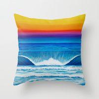 Throw Pillows by Stephanie Boinay Art | Society6