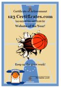123 Certificate offers free basketball certificate templates that coaches, parents, or schools can use to reward their players. Basketball Awards, Free Basketball, Basketball Party, Basketball Gifts, Sports Gifts, Softball Gifts, Cheerleading Gifts, Award Certificates, Certificate Templates