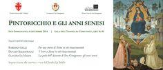 """San Gimignano, seminario """"Pintoricchio e gli anni senesi"""" https://www.facebook.com/baccano.san.gimignano/photos/a.756053444450496.1073741828.756028791119628/756838444371996/?type=1&theater #sangimignano"""