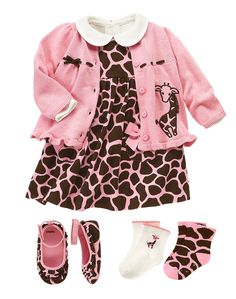 Baby girls' fashion | Baby clothes | Little black dress set | The