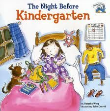 These kids are tossing and turning, but they have visions of school supplies dancing in their heads.  This story follows the children through their first day of kindergarten with the familiar rhythm of a favorite Christmas story. There are tears, but you might be surprised who ends up crying…and it's not the children.