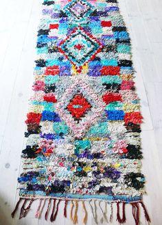 Tapis Boucherouite en Crochet par La Casa de Coto