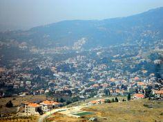 PHOTOS OF LEBANON IN SUMMER , SUMMER RESORTS IN THE HAMMANA VALLEY