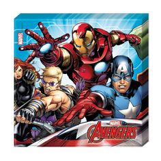 Party Supplies Avengers Pack Of 20 Napkins Party Tableware Disney Marvel Hulk Thor Iron Man & Garden The Avengers, Marvel Avengers Comics, Baby Avengers, Marvel Avengers Assemble, Avengers Birthday, Hulk Marvel, Superhero Birthday Party, Captain Marvel, Captain America