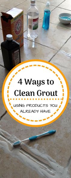 Terrific Free An Experiment to Find the Best Way to Clean Tile Grout - The Organized Mom Thoughts Tiles are considered insensitive and easy to clean. It is therefore not without reason that they ar