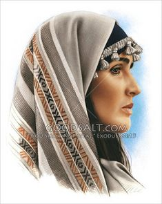 Hebrew Woman in Headdress Nativity Costumes, Christmas Costumes, Purim Costumes, Biblical Costumes, Traditional Fashion, Godly Woman, Woman Face, Fashion History, Headdress
