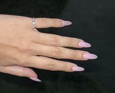 Neutral Gel Nails, Almond Gel Nails, Crystals, Jewelry, Jewlery, Jewerly, Schmuck, Crystal, Jewels