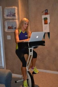 FitDesk – So you can Workout while you Work - Really! Ride and type and talk and burn calories and get fit and ...
