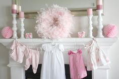 Little Lady Baby Shower on www.prettymyparty.com.