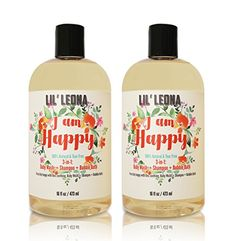 3in1 Tearless Baby Shampoo Body Wash and Bubble Bath Set  32 oz By Lil Leona * Read more reviews of the product by visiting the link on the image.