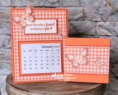 Desk Calendar and Post It Note Holder Calendar Notes, Calendar Ideas, Calendar Design, Desktop Calendar, Fun Fold Cards, Folded Cards, Post It Note Holders, Quick And Easy Crafts, Desk Calendars