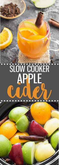 Make homemade apple cider from scratch in the slow cooker. This is the perfect holiday drink and it's also great when used in recipes like donuts, cupcakes, muffins, ...#cider #apple #drink #fall