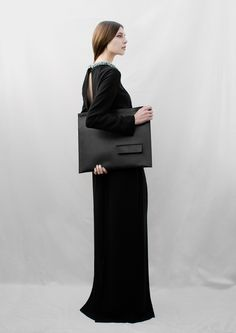 Paris-based industrial designer Isabelle Bois collaborated with & Other Stories - Sweden, to generate a capsule collection of bags, pouches, and cases.