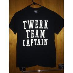 Twerk Team Captain t-shirt No description needed Tops Tees - Short Sleeve