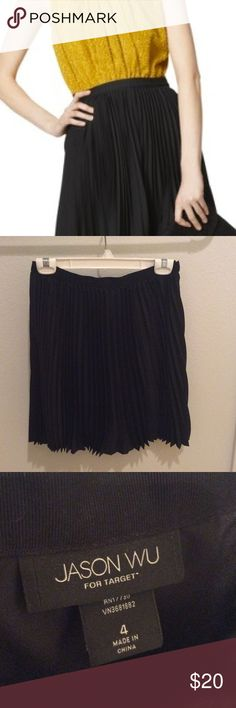 Jason Wu for Target Pleated Skirt Black pleated skirt, like new! Jason Wu for Target. Gently worn. Good condition. Jason Wu Skirts