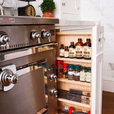In this post, we will take a look at some of the solutions for adding extra kitchen storage space. Checkout 25 awesome kitchen storage ideas.