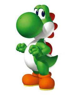 "Super Mario YOSHI STANDING Vinyl Sticker Decal 6"""