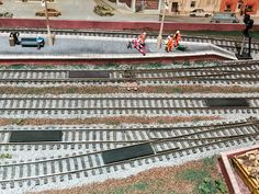 Inglenook South in numbers, four. The layout has 4 Kadee uncoupling magnets.