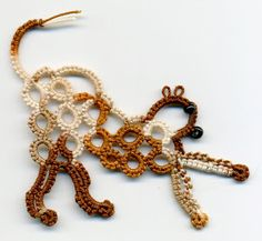 Tatting and not a lot else!: Small cat.