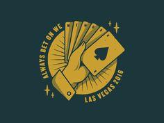 Las Vegas by Vincent Conti #Design Popular #Dribbble #shots
