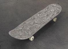 Dario Escobar Silver Skateboard, 2008