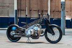 Birdcage: Revival Cycle's Titanium-Caged BMW Boxer | Bike EXIF Bmw Boxer, Bmw Cafe Racer, New Bmw, Bmw Motorcycles, Bike Art, Bird Cage, Maserati, Bobber, Custom Cars
