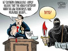 Bullseye.  Thanks to cartoonist Andy Marlette for use of the image