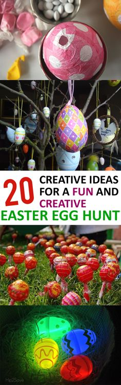 20 Creative Ideas for a Fun and Creative Easter Egg Hunt